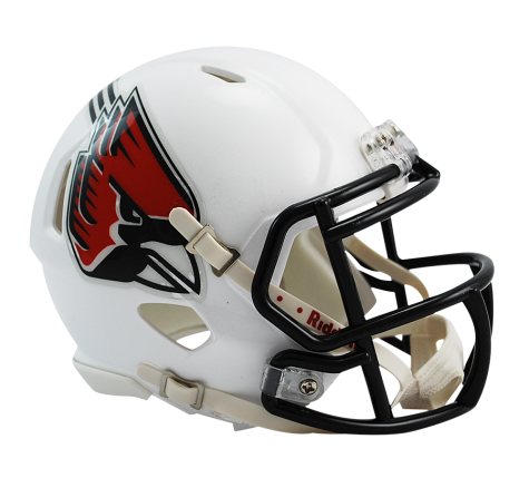 Ball State Cardinals Tigers Riddell Speed Mini Helmet - Helmet - SPORTSCRACK