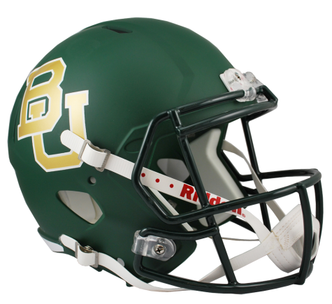 BAYLOR-GREEN SPEED REPLICA HELMET