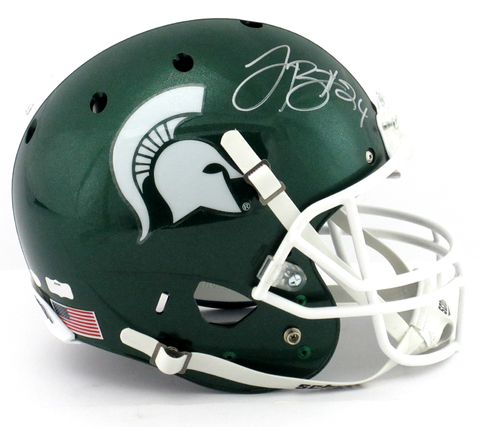 LeVeon Bell Signed Michigan State Spartans Schutt XP Full Size NCAA Helmet
