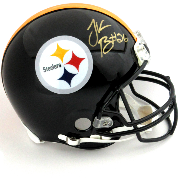 Le'Veon Bell Autographed/Signed Pittsburgh Steelers Riddell Authentic NFL Helmet