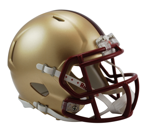 Boston College Golden Eagles Riddell Speed Mini Helmet - Helmet - SPORTSCRACK