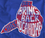 Bring back Chief Nocahoma Atlanta Baseball Throwback T-shirt
