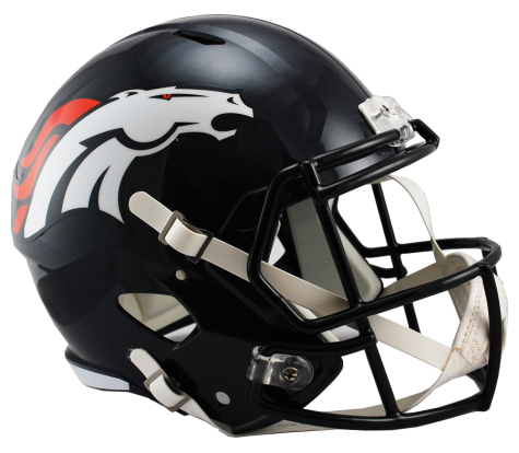 DENVER BRONCOS RIDDELL SPEED REPLICA HELMET
