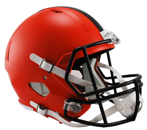CLEVELAND BROWNS RIDDELL SPEED REPLICA HELMET