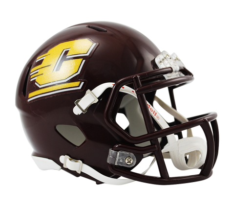 Central Michigan Riddell Speed Mini Helmet - Helmet - SPORTSCRACK