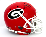 Champ Bailey Signed Georgia Bulldogs Schutt Full Size NCAA Helmet