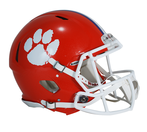 CLEMSON REVOLUTION SPEED AUTHENTIC HELMET