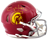 Clay Matthews Signed USC Trojans Riddell Authentic Revolution Speed NCAA Helmet - Memorabilia - SPORTSCRACK - 1