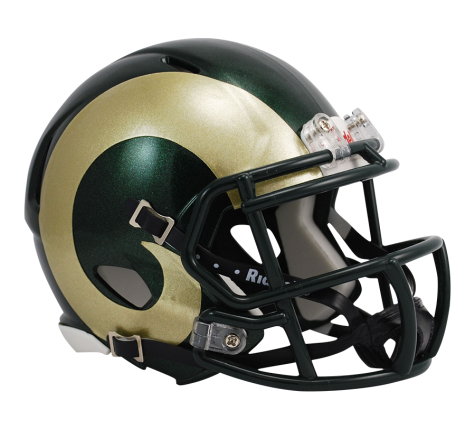Colorado State Rams Riddell Speed Mini Helmet - Helmet - SPORTSCRACK