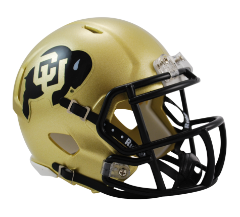Colorado Buffaloes Riddell Speed Mini Helmet - Helmet - SPORTSCRACK