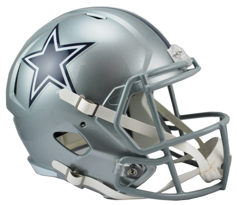 DALLAS COWBOYS RIDDELL SPEED REPLICA HELMET