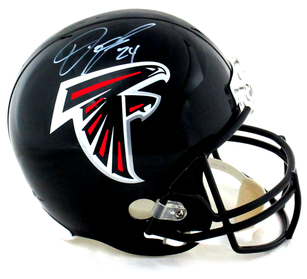 Devonta Freeman Signed Atlanta Falcons Riddell Current Full Size NFL Helmet