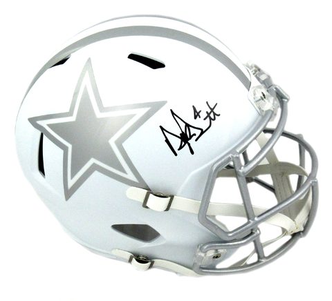 Dak Prescott Signed Dallas Cowboys Riddell ICE Speed Full Size Helmet