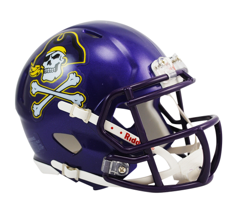 East Carolina Riddell Speed Mini Helmet - Helmet - SPORTSCRACK