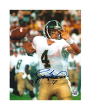 Brett Favre Signed Southern Mississippi Golden Eagles 8x10 Photo - White Jersey