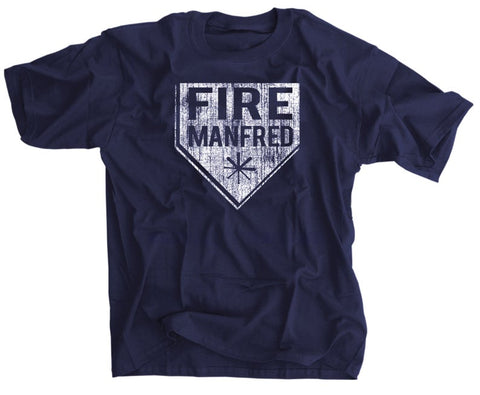 Fire Manfred Shirt Rob Manfred Baseball Commissioner Tee
