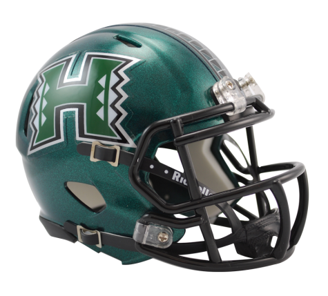 Hawaii Riddell Speed Mini Helmet - Helmet - SPORTSCRACK
