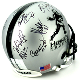 Heisman Winners Authentic Custom Helmet With 21 Signatures