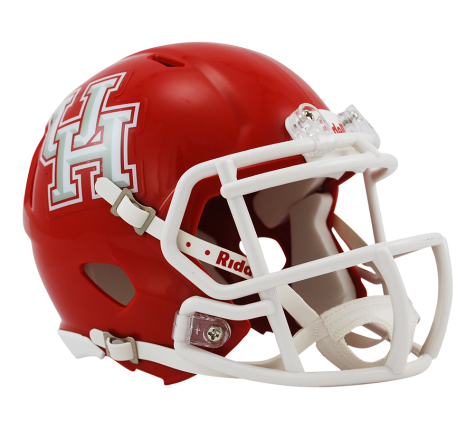 Houston Cougars Riddell Speed Mini Helmet - Helmet - SPORTSCRACK