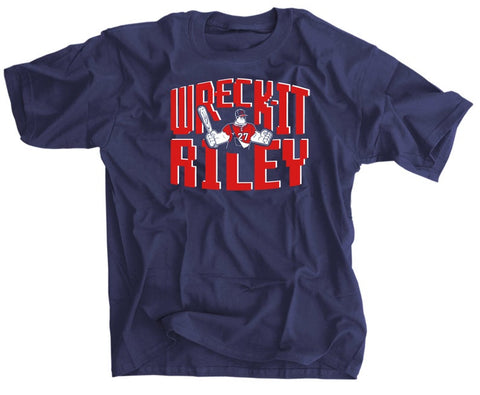 Wreck-It Riley Austin Riley Baseball Shirt