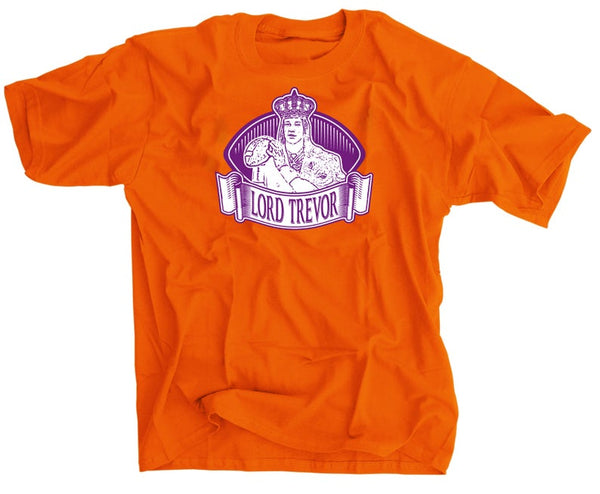Lord Trevor Lawrence Clemson Orange and Purple Football Shirt