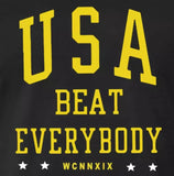 USA Beat Everybody T Shirt USWNT US Womens Soccer