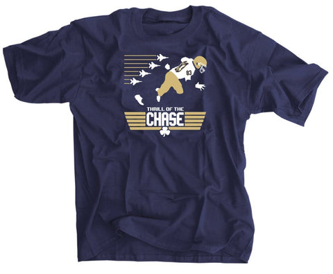 Thrill of the Chase Shirt - Chase Claypool Notre Dame shirt