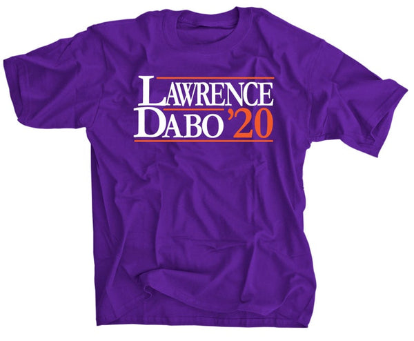 Trevor Lawrence and Dabo Swinney for President - 2020 election - Clemson shirt
