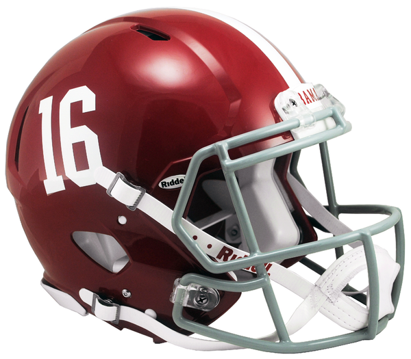 ALABAMA 16 SPEED AUTHENTIC HELMET