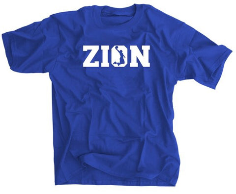 Zion Williamson soaring basketball shirt