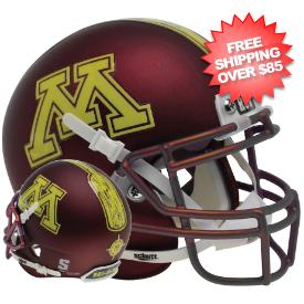 Minnesota Golden Gophers Mini Authentic Schutt (Row The Boat)