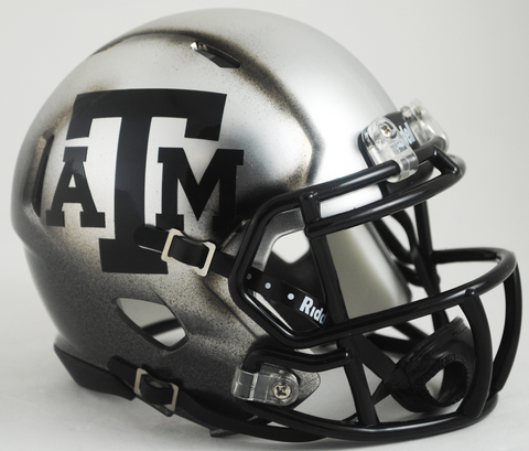 Texas A&M Aggies Ice Hydo 2015 Riddell Speed Mini Helmet