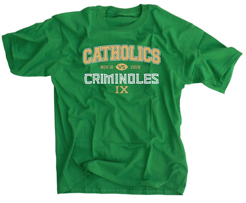 Catholics vs Criminoles 2018 Irish Green Football Shirt