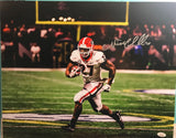 "Nick Chubb Autographed ""SEC Championship Game Run"" 8x10 Photo"