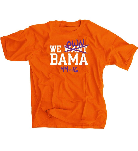 We Own Bama 44-16 Shirt