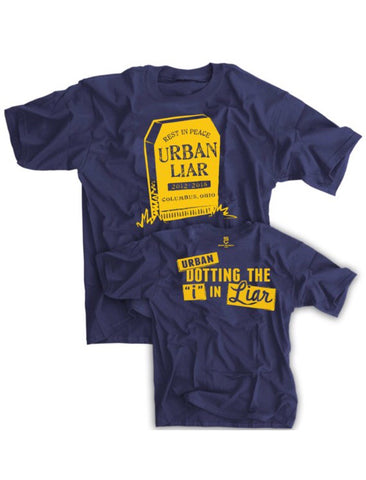 RIP Urban Liar Shirt - Urban Meyer - 2018 Funny Vintage Shirt