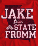 Jake from State Fromm QB1 Football Shirt