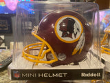 WASHINGTON REDSKINS Riddell ProLine VSR-4 Mini Football Helmet