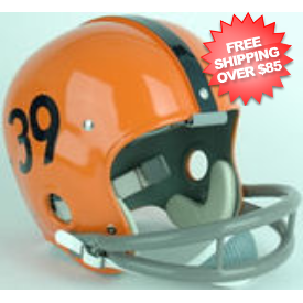 a829986246c Syracuse Orangemen 1964 to 1977 Larry Csonka Full Size NCAA Throwback  Authentic Vintage Football Helmet