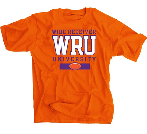 Clemson Wide Receiver U Football Shirt