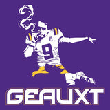 THE GEAUXT Joe Burrow Cigar Smoking National Champs Heisman LSU Shirt