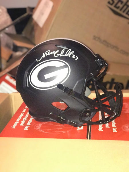 Nick Chubb Signed Georgia Bulldogs Eclipse NCAA Helmet