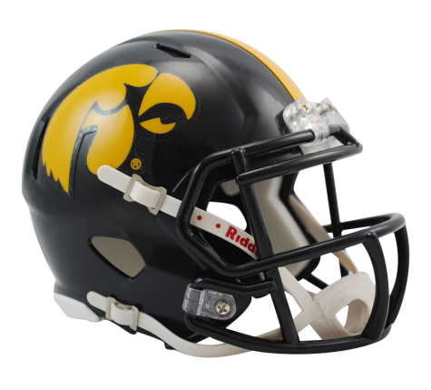 Iowa Hawkeyes Riddell Speed Mini Helmet - Helmet - SPORTSCRACK