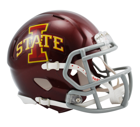 Iowa State Cyclones Riddell Speed Mini Helmet