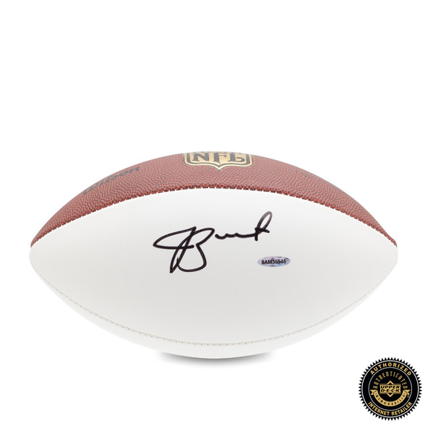 Jameis Winston Signed White Panel Football - Tampa Bay Buccaneers
