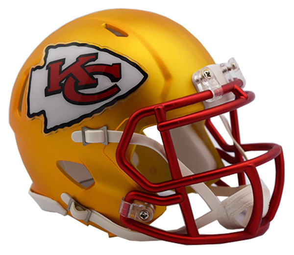 KANSAS CITY CHIEFS BLAZE SPEED MINI HELMET