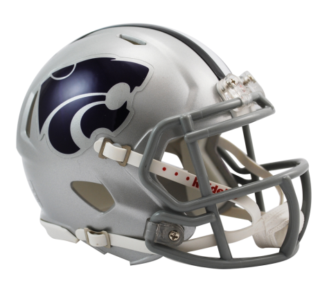 Kansas State Riddell Speed Mini Helmet