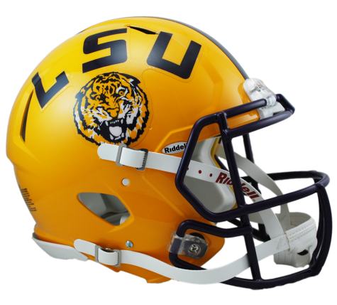 LSU REVOLUTION SPEED AUTHENTIC HELMET