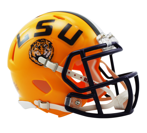 LSU Tigers Riddell Speed Mini Helmet - Helmet - SPORTSCRACK