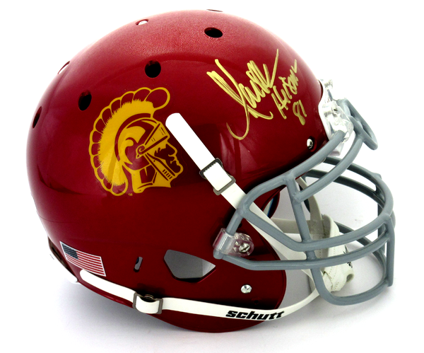 "Marcus Allen Signed USC Trojans Schutt Authentic NCAA Helmet With ""Heisman 81"" Inscription - Memorabilia - SPORTSCRACK"
